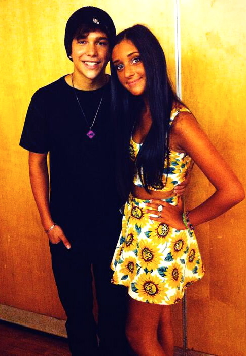 Austin Mahone & Jenna Rose