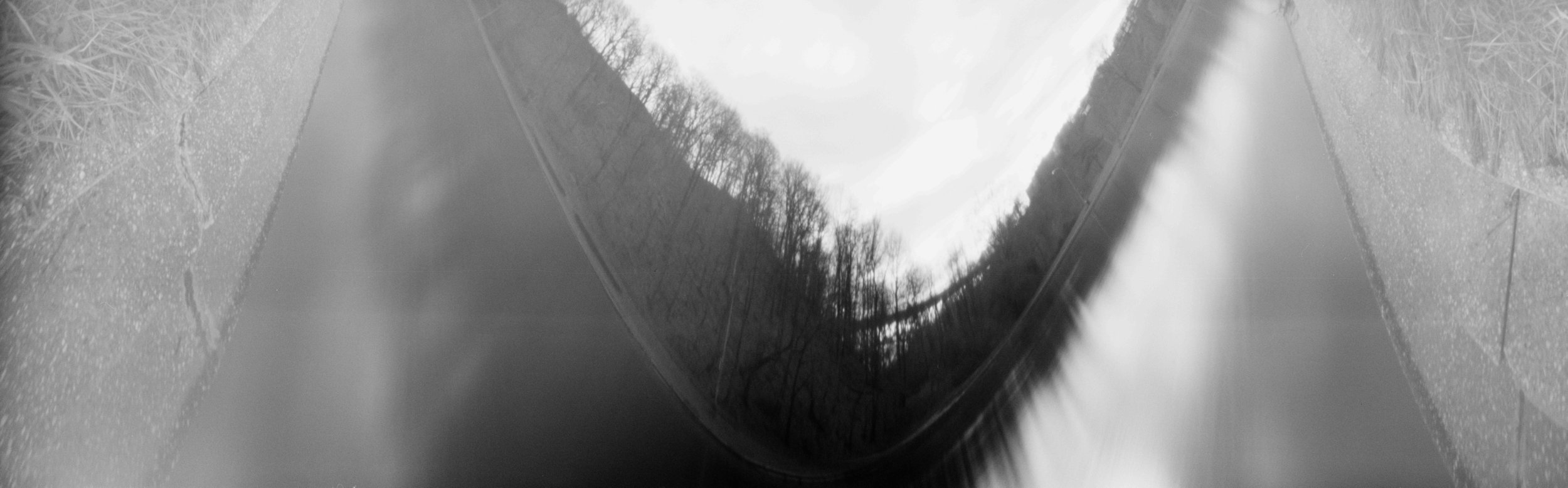 Panther Hollow Lake, Pinhole camera