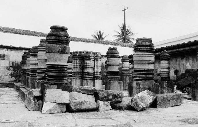 Lathe-Turned Stone Pillars, Belur