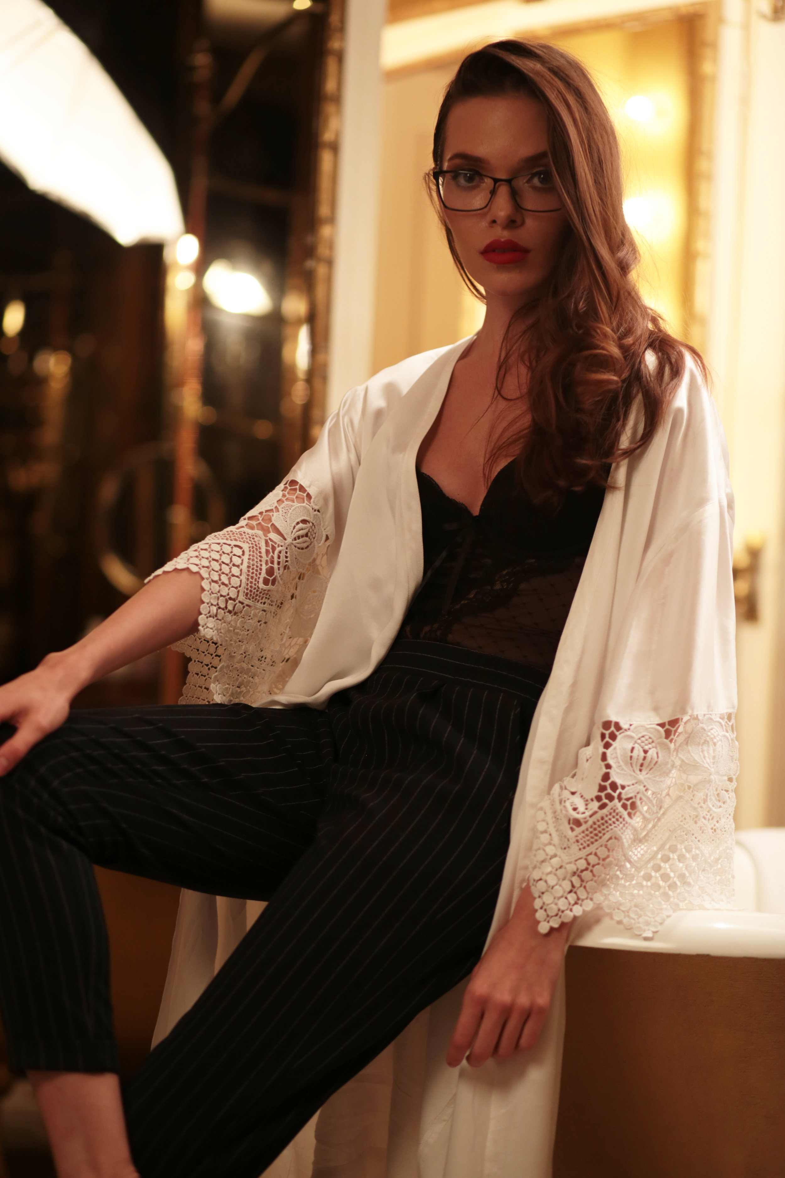 THE MOST LUXURIOUS ROBE YOU'LL EVER FIND
