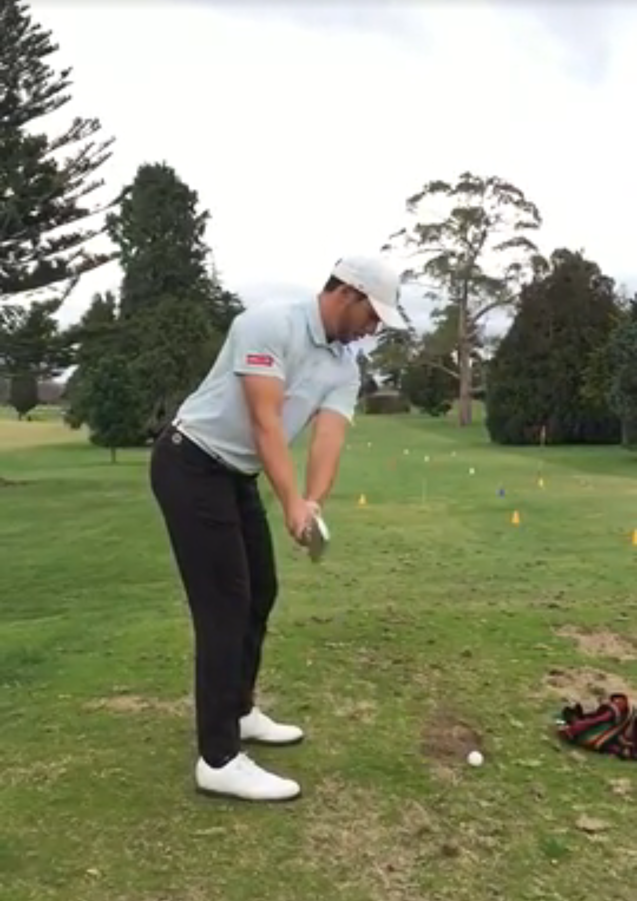 Former NZ Rep and now Tour Professional Luke Toomey is one of the players in the full time program