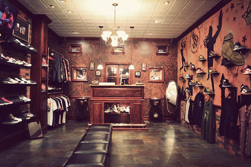 Inside Sneaker Bistro