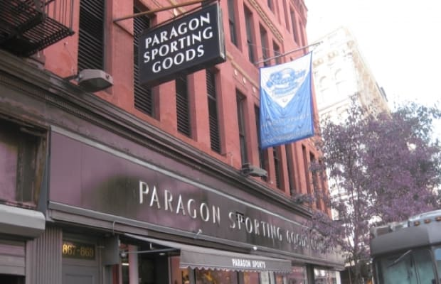 Outside Paragon Sporting Goods