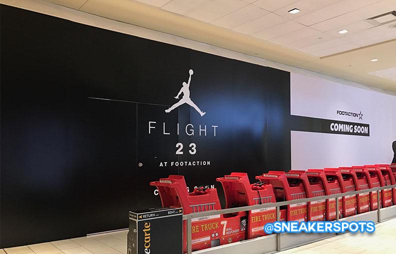 Flight 23 at Queen Center Mall