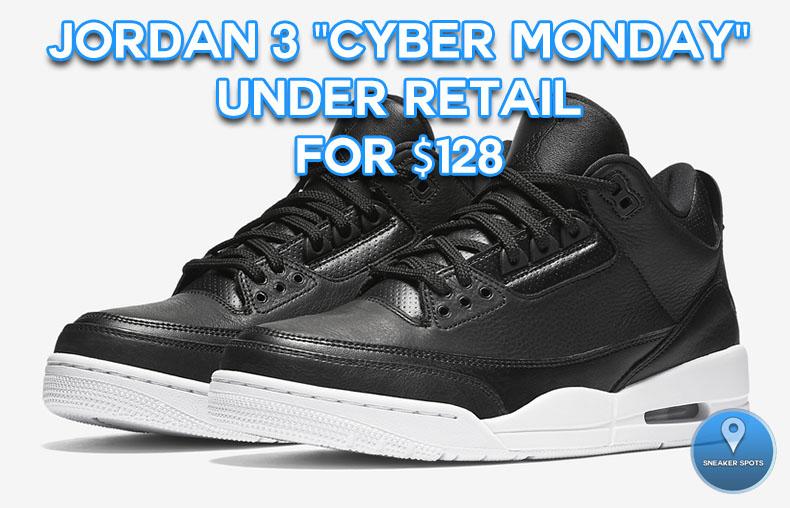 "Jordan 3 ""Cyber Monday"""