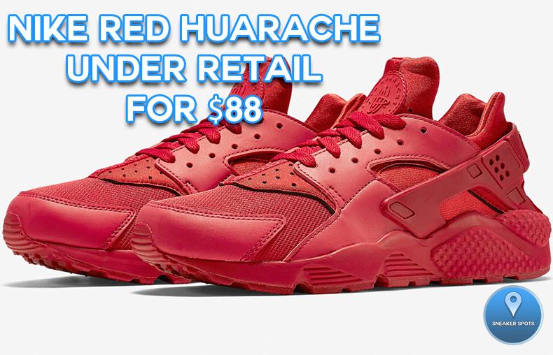 Nike Red Huarache
