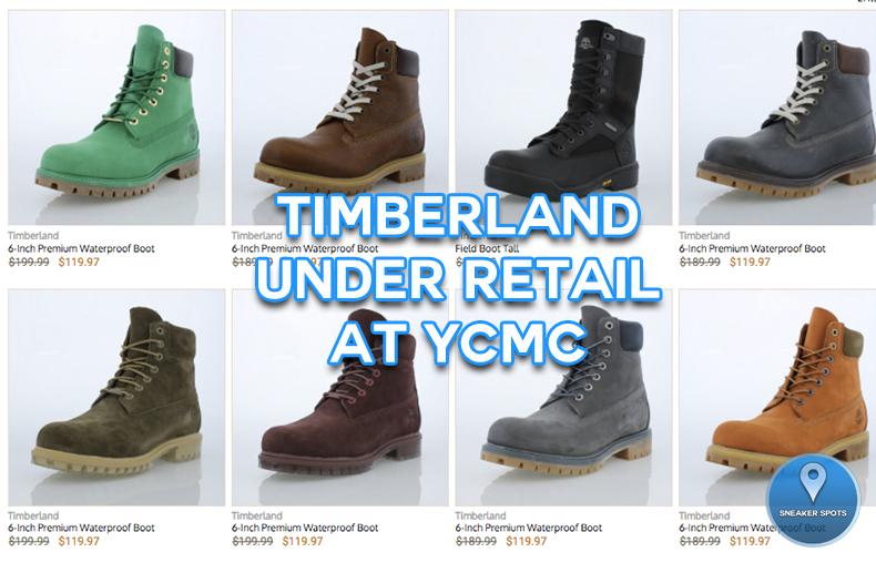 Timberland on sale