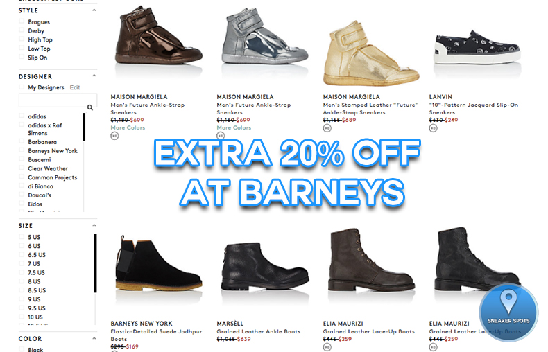 Sale at Barneys