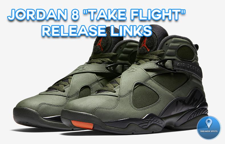 """Jordan 8 """"Take Flight"""""""