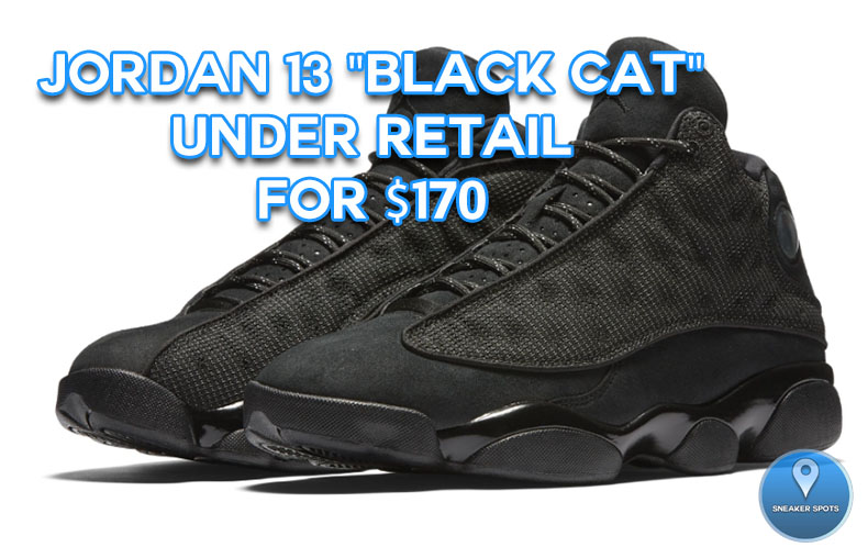 "Jordan 13 ""Black Cat"""