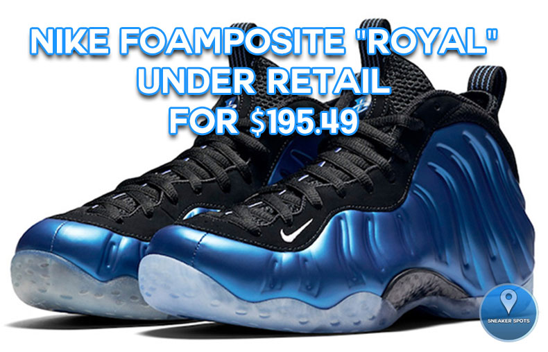 "Nike Foamposite ""Royal"""