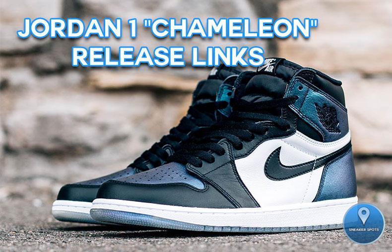 """Jordan 1 """"Chameleon"""""""
