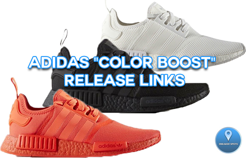 """Adidas """"Color Boost"""" Pack"""