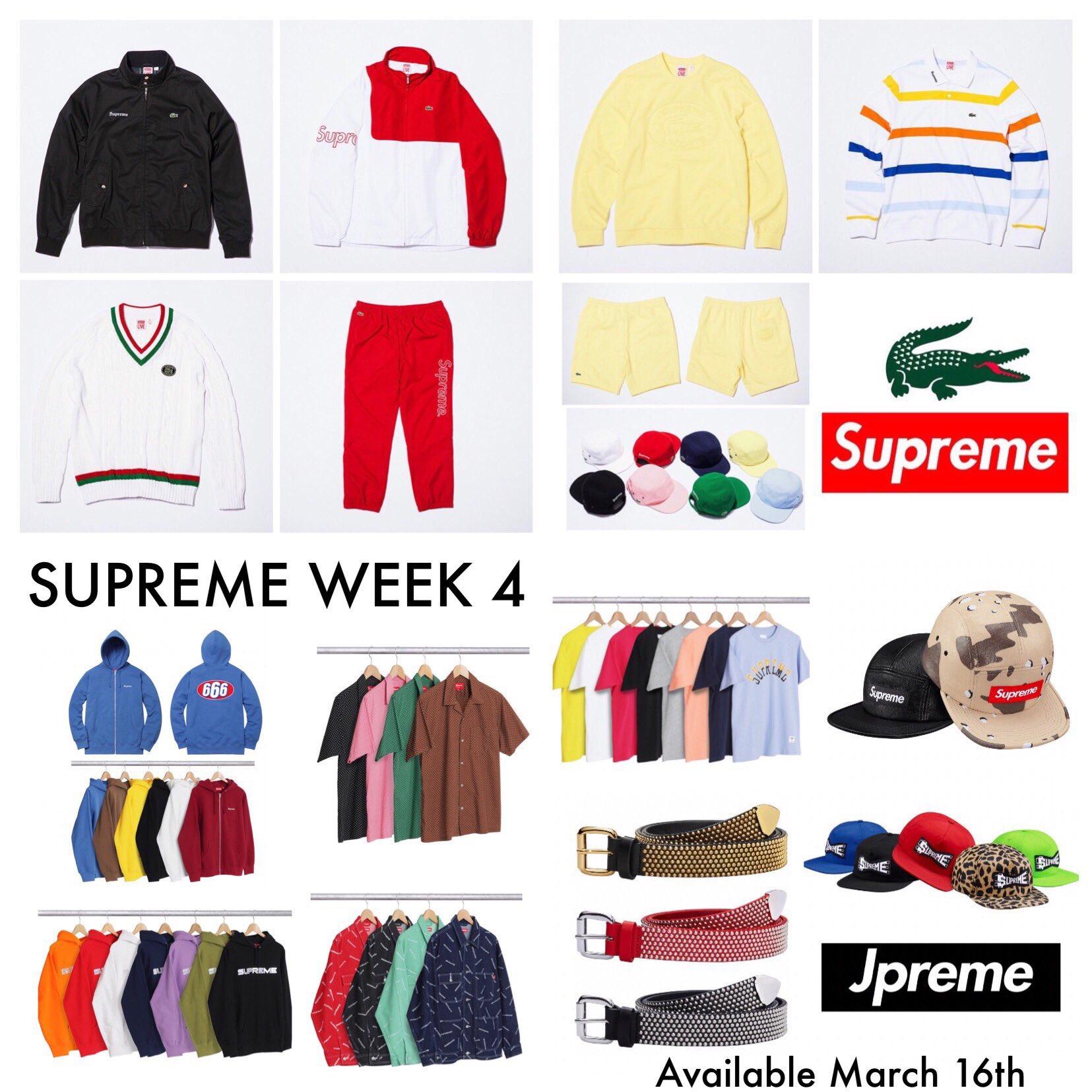 Week 4 Drop