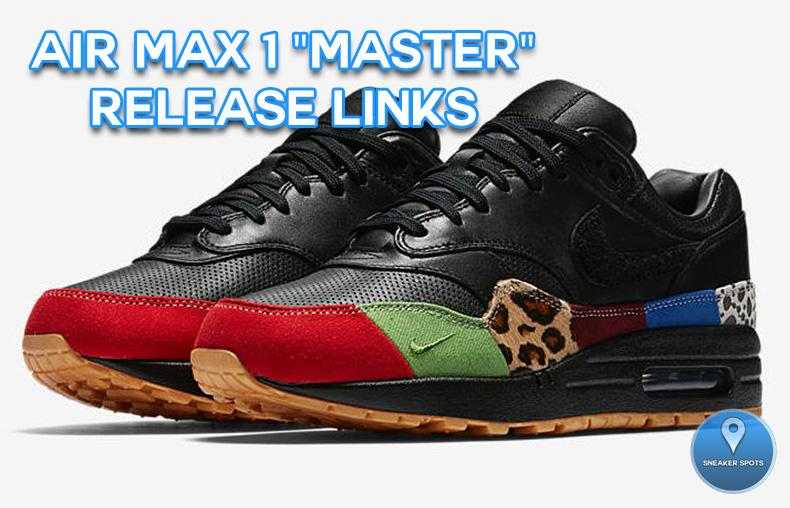 """Air Max 1 """"Master"""""""