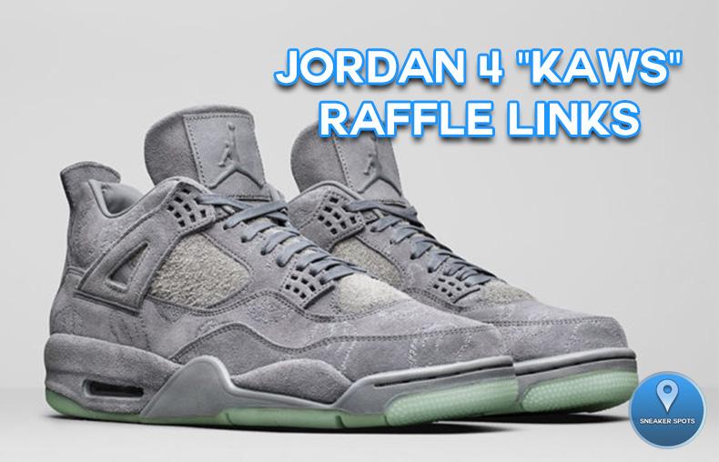 """Jordan 4 """"Kaws"""""""