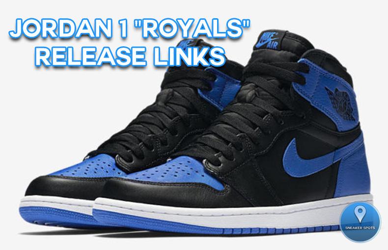 """Jordan 1 """"Royals"""""""