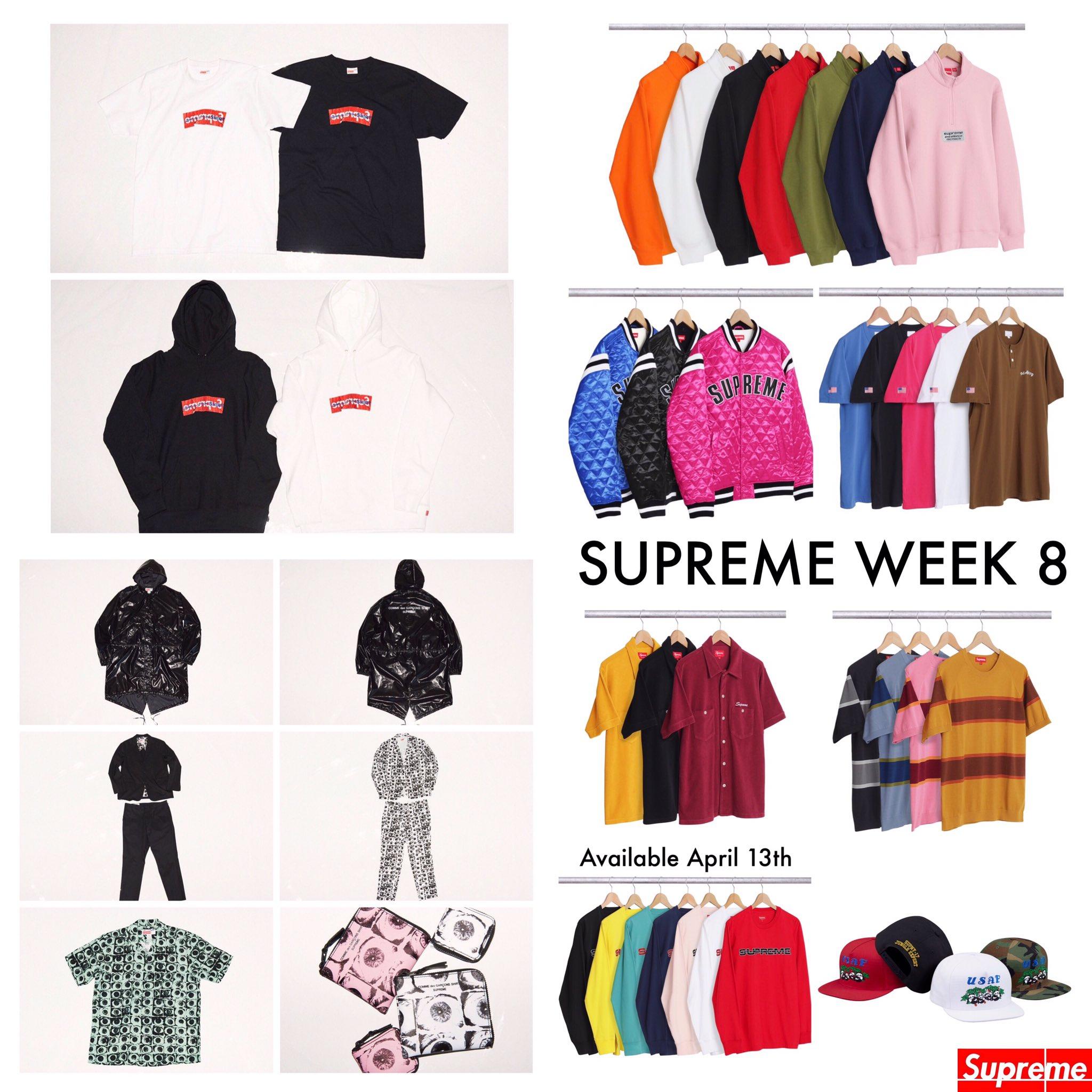 Supreme Week 8