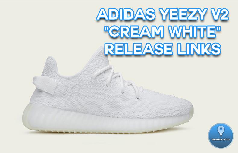 """Yeezy V2 """"Cream White"""""""