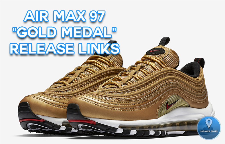 "Air Max 97 ""Gold Medal"""