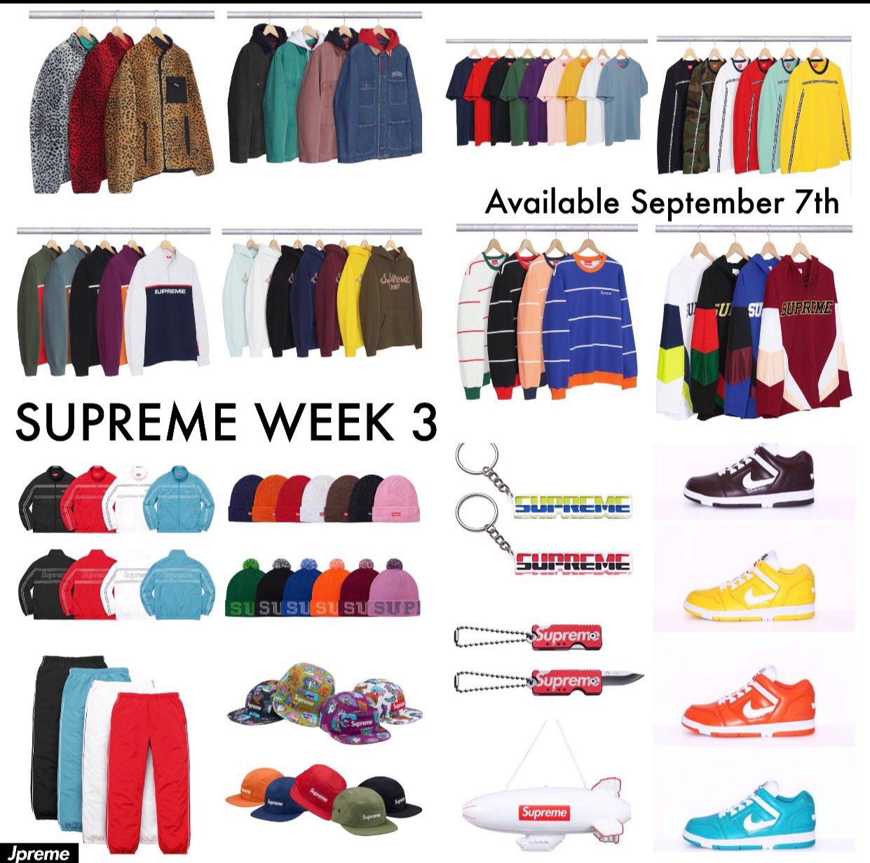 Supreme Week 3