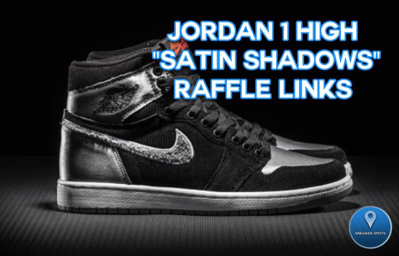 "Jordan 1 ""Satin Shadows"""