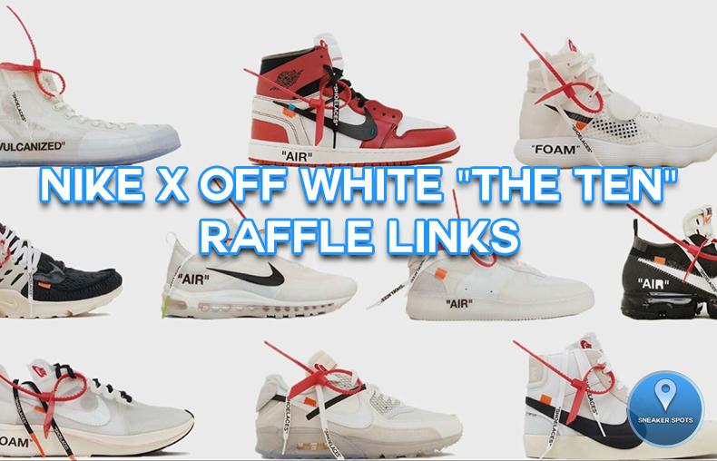 """Nike x Off-White """"The Ten"""""""