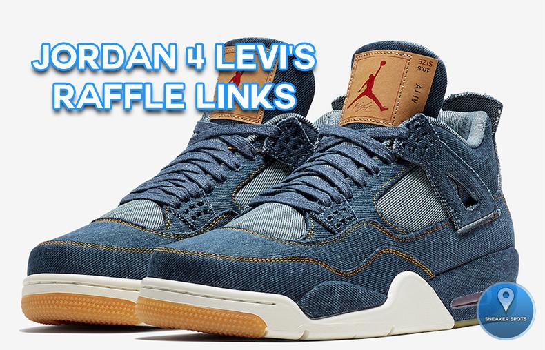 Jordan 4 Levi's