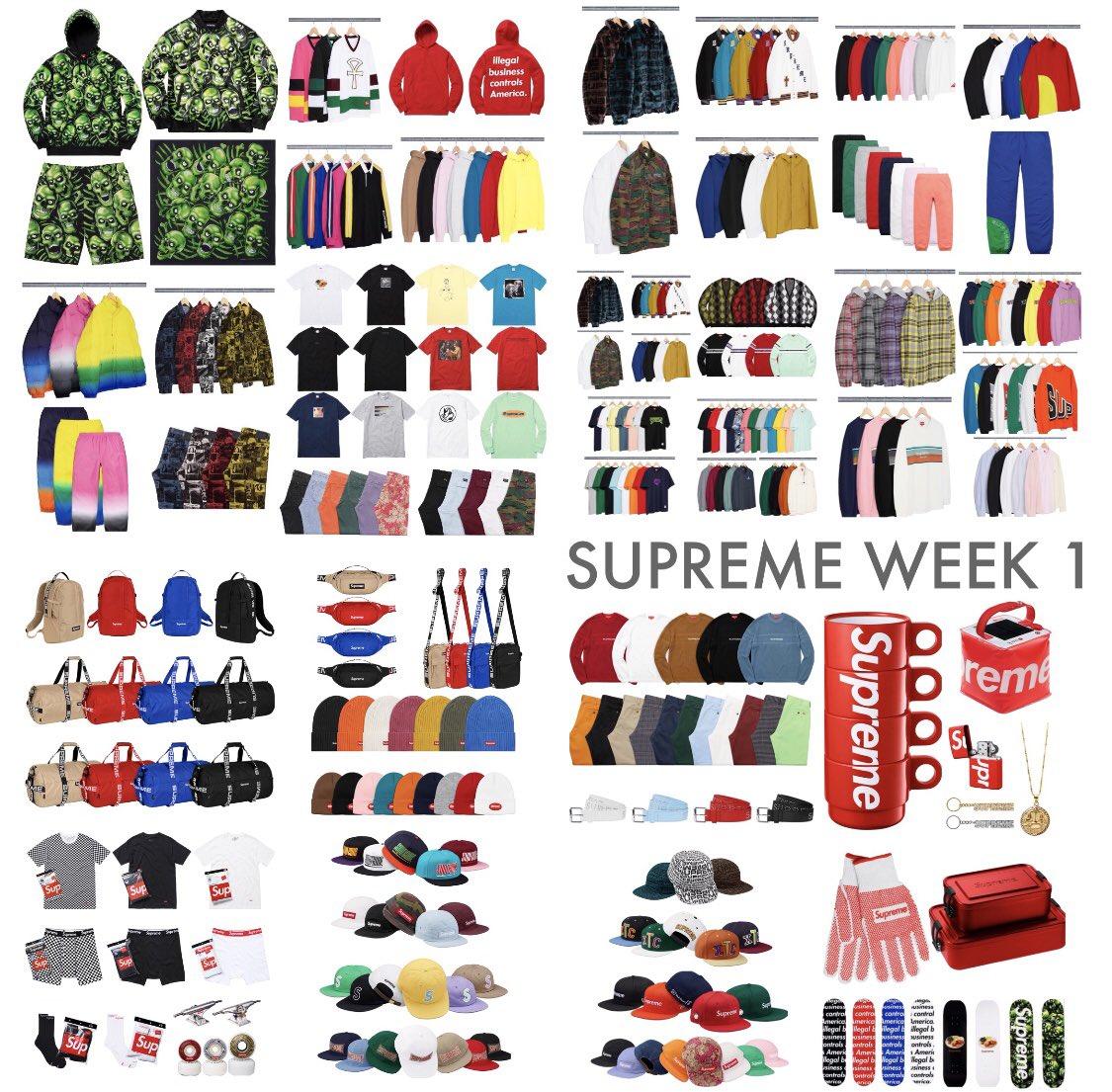 Supreme Week 1