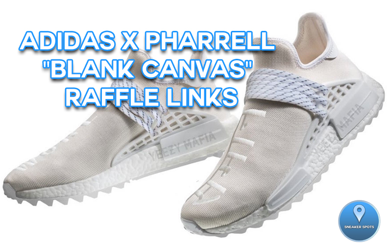 "Adidas X Pharrell ""Blank Canvas"""