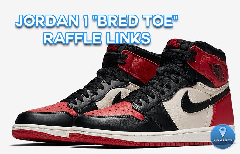 """Jordan 1 """"Bred Toe"""""""