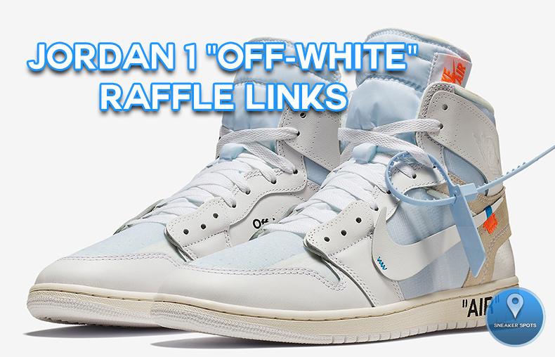 """Jordan 1 """"Off-White"""""""