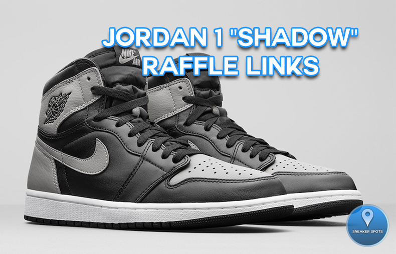 "Jordan 1 ""Shadow"""
