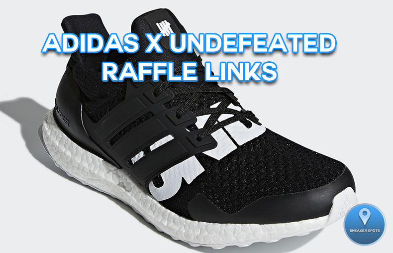 Adidas Undefeated Ultra Boost