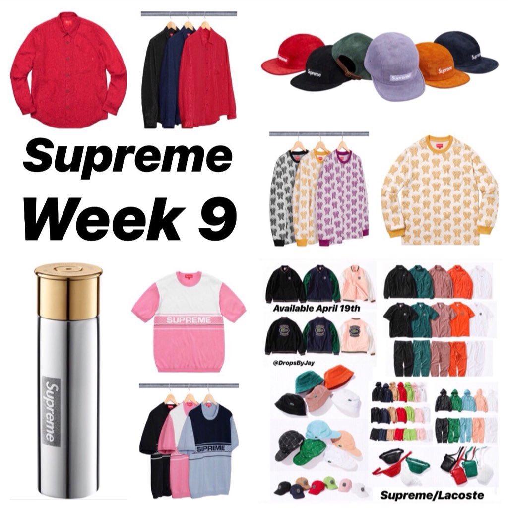 Supreme Week 9