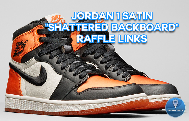 "Jordan 1 Satin ""Shattered Backboard"""
