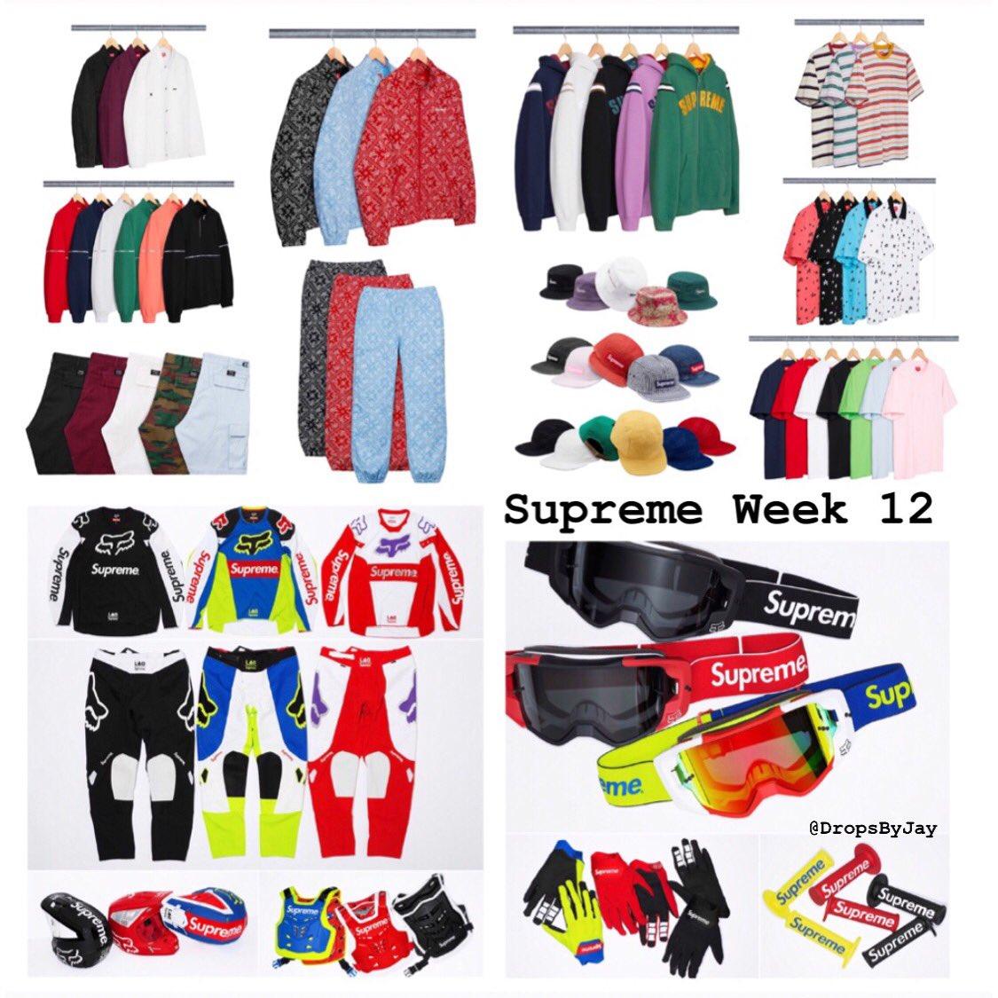 Supreme Week 12