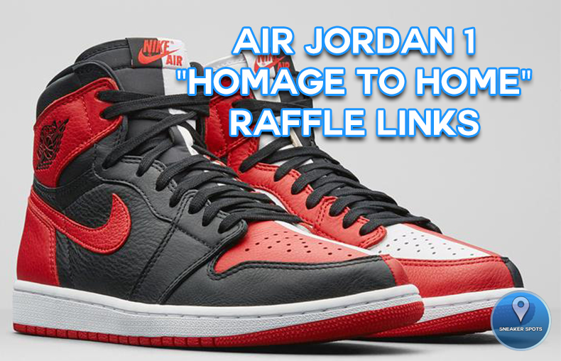 "Jordan 1 ""Homage to Home"""