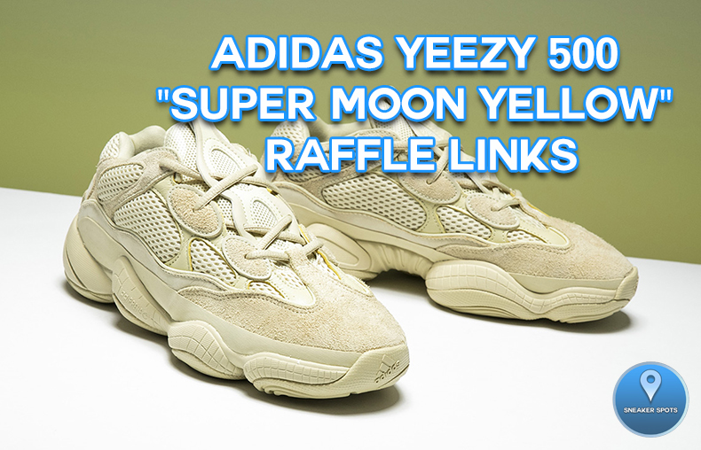 "Adidas ""Super Moon Yellow"""