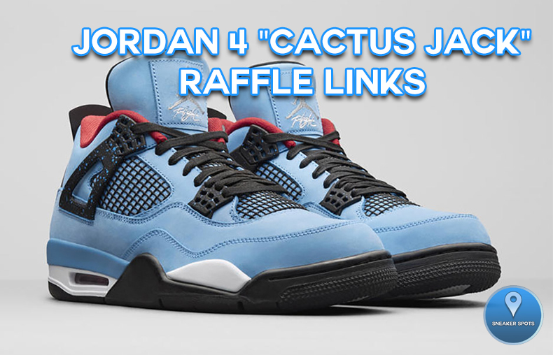 """Jordan 4 """"Cactus Jack"""""""
