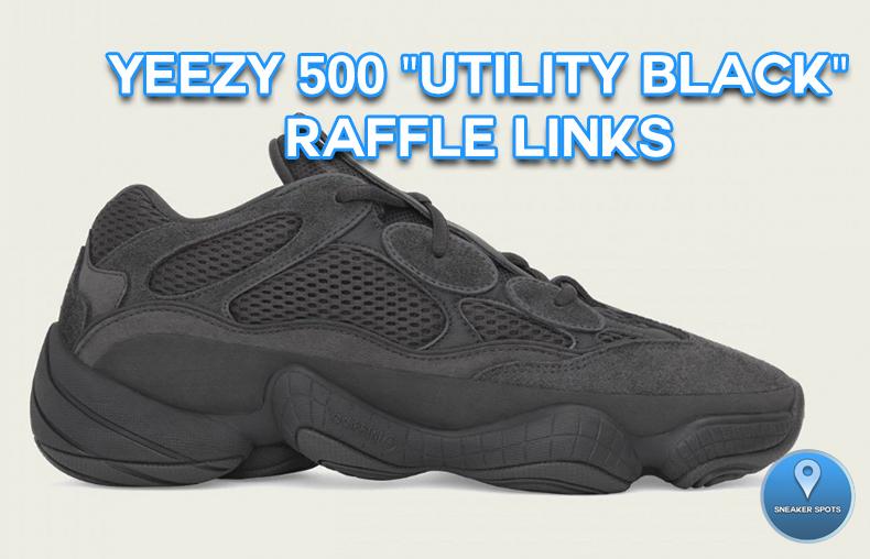 "Yeezy 500 ""Utility Black"""