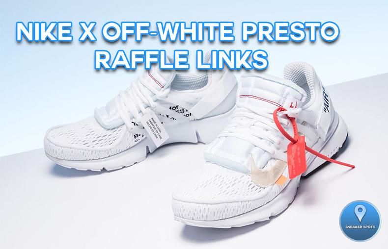 Off-White Presto in White