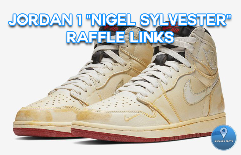 "Jordan 1 ""Nigel Sylvester"""