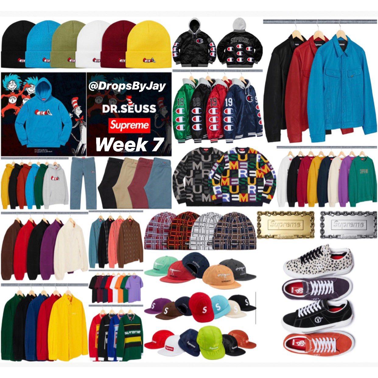 Supreme Week 7