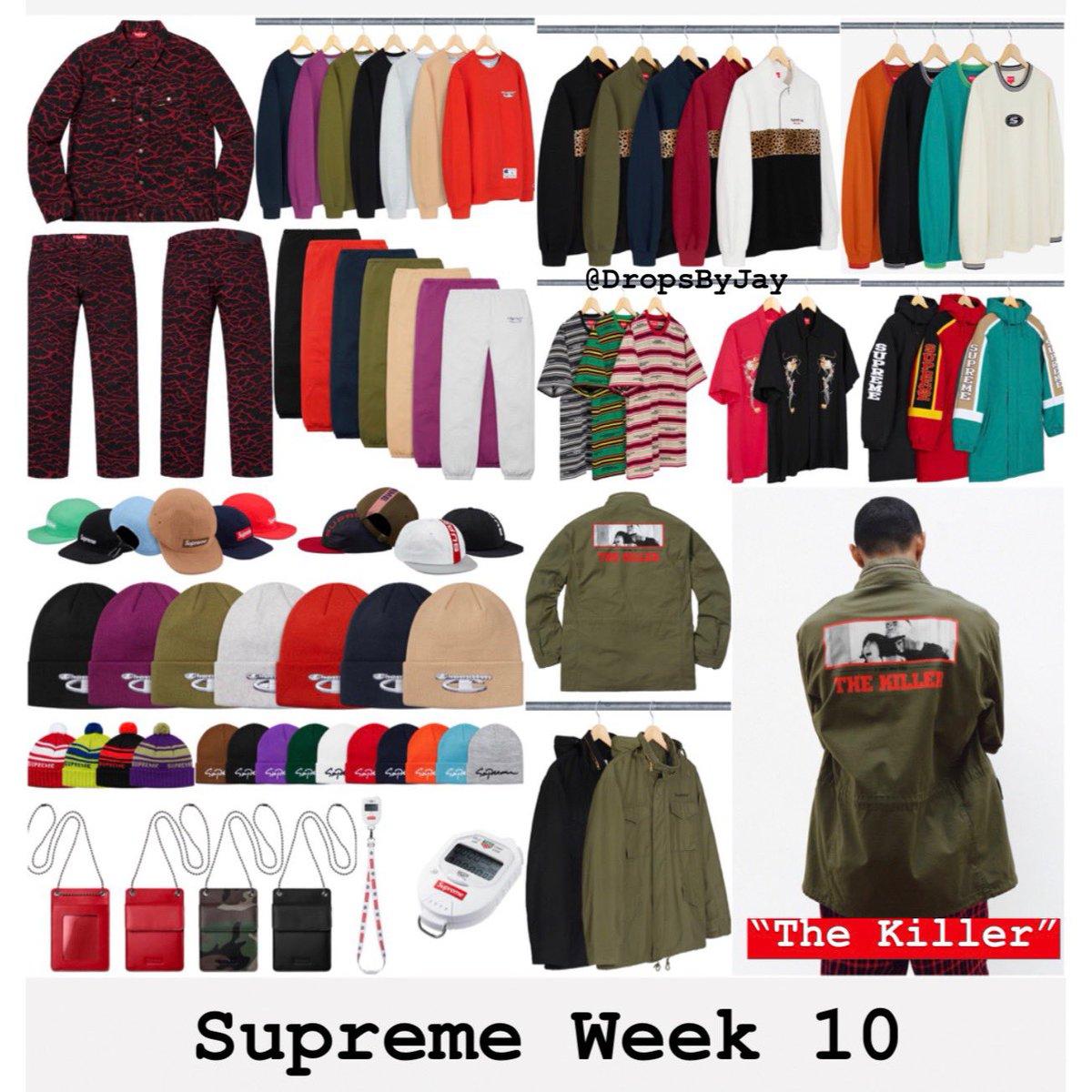 Supreme Week 10