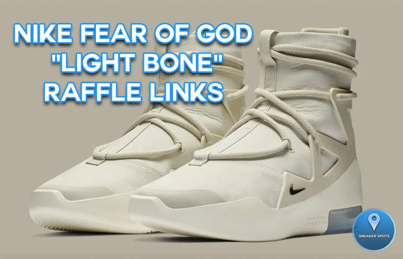 "Fear of God 1 ""Light Bone"""