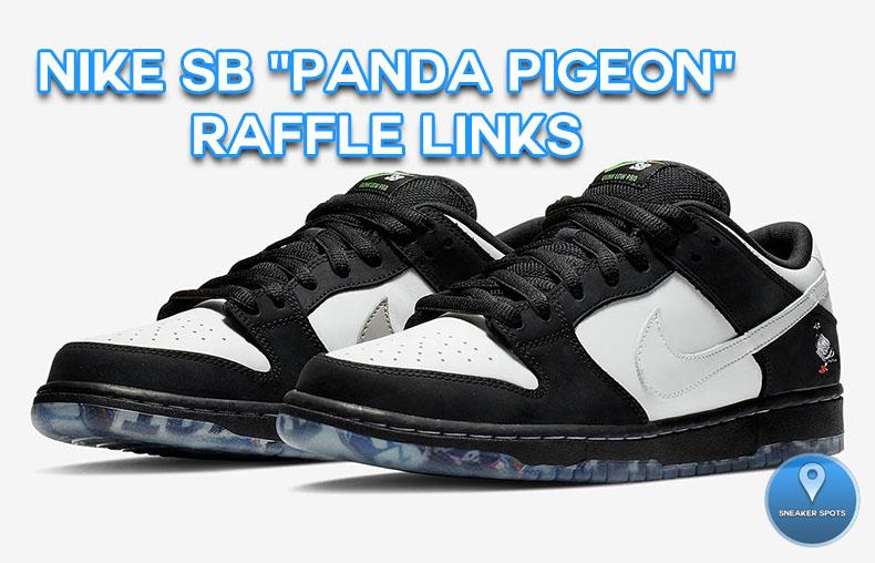 """Nike Sb """"Panda Pigeon"""""""