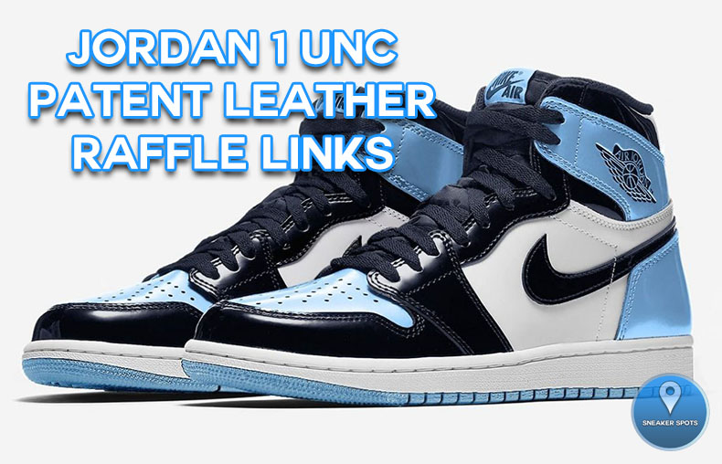 Jordan 1 UNC Patent Leather