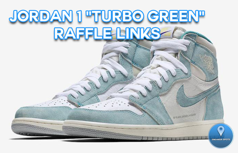 "Jordan 1 ""Turbo Green"""