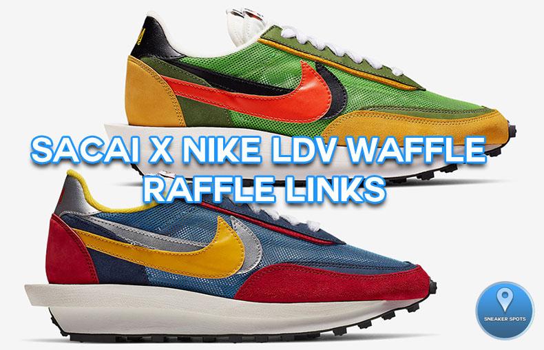Sacai x Nike LDV Waffle